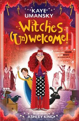 Cover for Witches (Un)Welcome by Kaye Umansky
