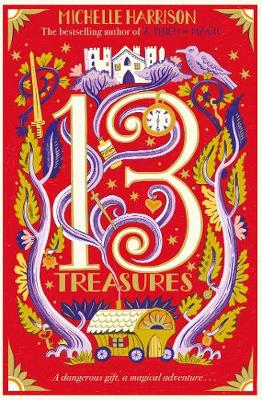 Cover for The Thirteen Treasures by Michelle Harrison