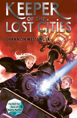 Cover for Keeper of the Lost Cities by Shannon Messenger