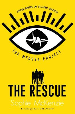 Cover for The Medusa Project: The Rescue by Sophie Mckenzie