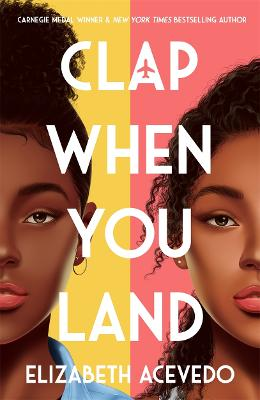 Cover for Clap When You Land by Elizabeth Acevedo