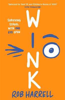 Cover for Wink by Rob Harrell