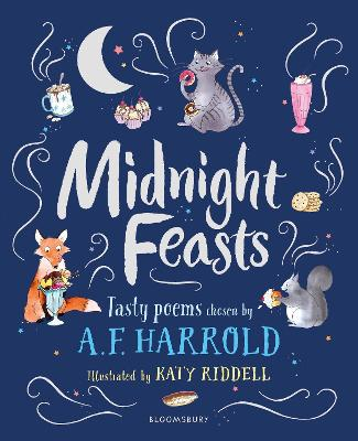 Cover for Midnight Feasts: Tasty poems chosen by A.F. Harrold by A.F. Harrold