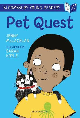 Cover for Pet Quest: A Bloomsbury Young Reader by Jenny McLachlan