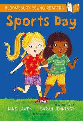 Cover for Sports Day: A Bloomsbury Young Reader by Jane Lawes