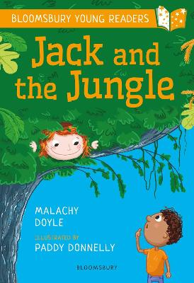 Cover for Jack and the Jungle: A Bloomsbury Young Reader by Malachy Doyle