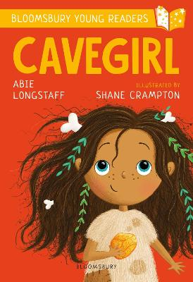 Cover for Cavegirl: A Bloomsbury Young Reader by Abie Longstaff