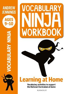 Cover for Vocabulary Ninja Workbook for Ages 9-10 by Andrew Jennings