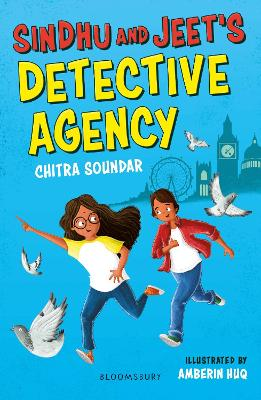Cover for Sindhu and Jeet's Detective Agency: A Bloomsbury Reader by Chitra Soundar