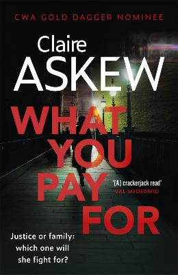 Cover for What You Pay For  by Claire Askew
