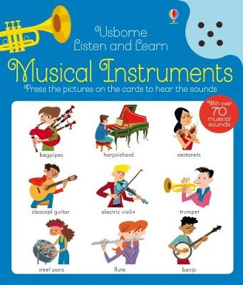 Cover for Listen and Learn Musical Instruments by Kirsteen Robson