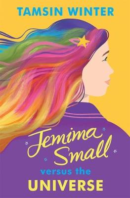 Cover for Jemima Small Versus the Universe by Tamsin Winter