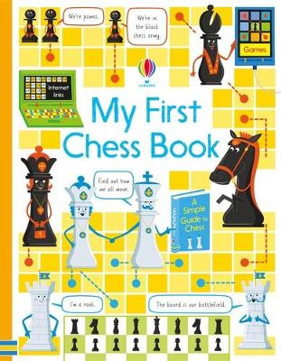 Cover for My First Chess Book by Katie Daynes