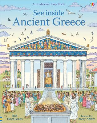 Cover for See Inside Ancient Greece by Rob Lloyd Jones