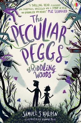 Cover for The Peculiar Peggs of Riddling Woods by Samuel J. Halpin