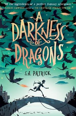 Cover for A Darkness of Dragons by S. A. Patrick