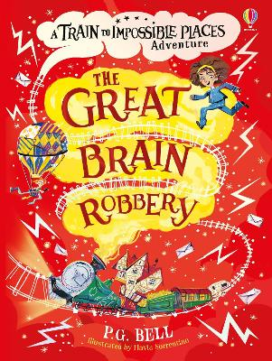Cover for The Great Brain Robbery by P. G. Bell