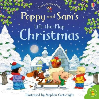 Cover for Poppy and Sam's Lift-the-Flap Christmas by Heather Amery