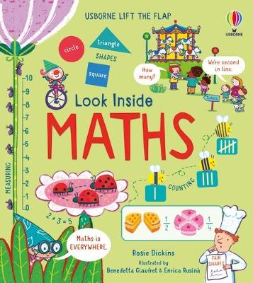 Cover for Look Inside Maths by Rosie Dickins