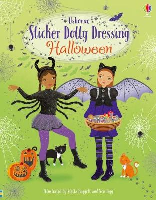 Cover for Sticker Dolly Dressing Halloween by Fiona Watt