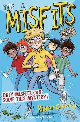 Cover for The Misfits Club by Kieran Crowley