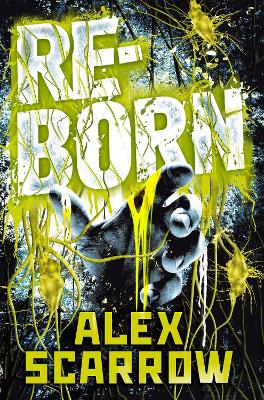 Cover for Reborn by Alex Scarrow