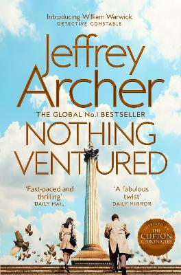 Cover for Nothing Ventured by Jeffrey Archer