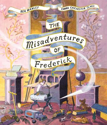 Cover for The Misadventures of Frederick  by Ben Manley
