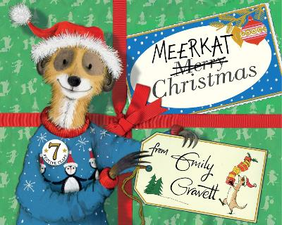 Cover for Meerkat Christmas  by Emily Gravett