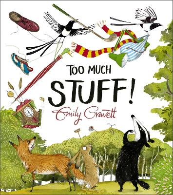 Cover for Too Much Stuff by Emily Gravett