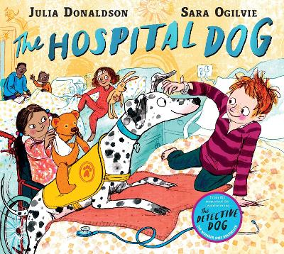 Cover for The Hospital Dog by Julia Donaldson