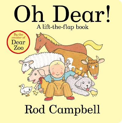 Cover for Oh Dear! 35th Anniversary Edition by Rod Campbell