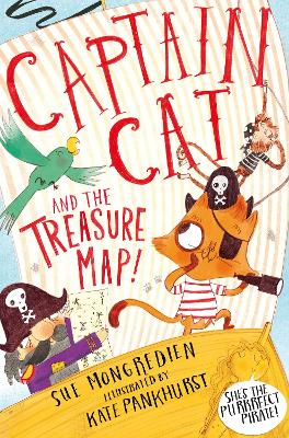 Cover for Captain Cat and the Treasure Map by Sue Mongredien