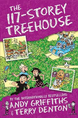 Cover for The 117-Storey Treehouse by Andy Griffiths