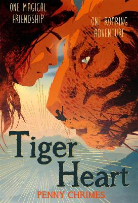 Cover for Tiger Heart by Penny Chrimes
