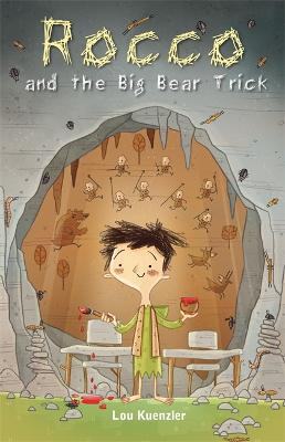 Cover for Rocco and the Big Bear Trick  by Lou Kuenzler