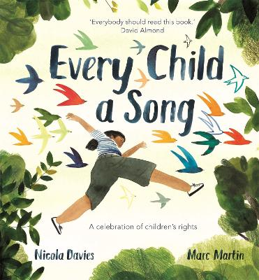Cover for Every Child A Song by Nicola Davies