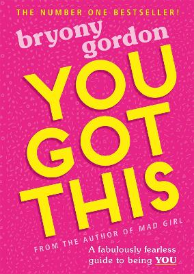 Cover for You Got This  by Bryony Gordon