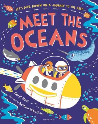 Cover for Meet the Oceans by Caryl Hart