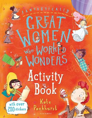 Cover for Fantastically Great Women Who Worked Wonders Activity Book by Kate Pankhurst