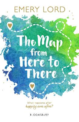 Book Cover for The Map from Here to There by Emery Lord