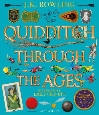Cover for Quidditch Through the Ages by J.K. Rowling