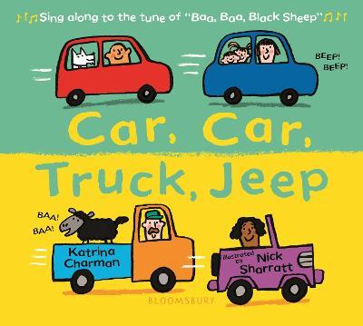 Cover for Car, Car, Truck, Jeep by Katrina Charman