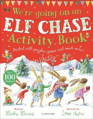 Cover for We're Going on an Elf Chase Activity Book by Martha Mumford