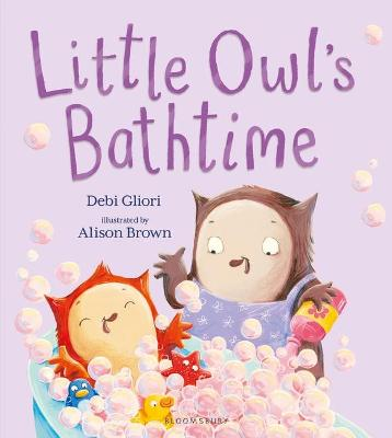 Cover for Little Owl's Bathtime by Debi Gliori
