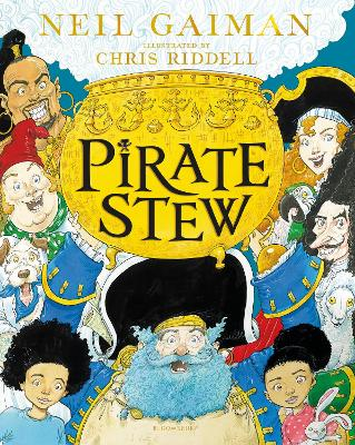 Cover for Pirate Stew by Neil Gaiman