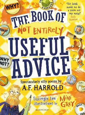 Cover for The Book of Not Entirely Useful Advice by A.F. Harrold