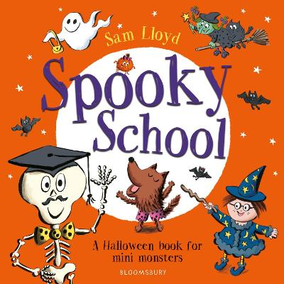 Cover for Spooky School by Sam Lloyd