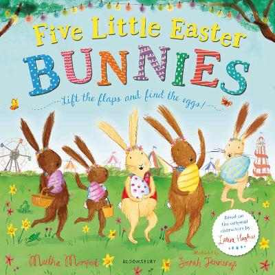 Cover for Five Little Easter Bunnies by Martha Mumford
