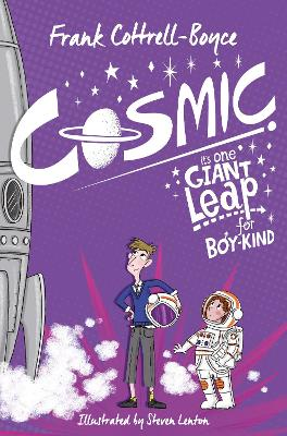 Book Cover for Cosmic by Frank Cottrell Boyce
